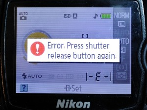 Error_Press_Shutter_Release_Button_Again